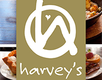 Harvey's Menu