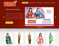 Rajmahal Silks eCommerce Site