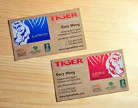 Tiger Utilities Business Card