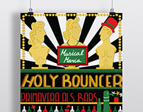Primavera als bars Holy Bouncer poster