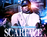 Throwback Thursday Promo Flyer (Scarface)