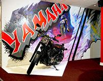 Yamaha Motorcycles Showroom