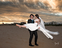 Jeffrey's Bay Main beach wedding by DHPhotography