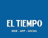 EL TIEMPO - WEB · APP · SOCIAL