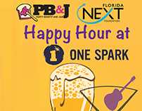 PB&J Florida Next Happy Hour at One Spark (2015)