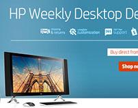 Weekly Desktop Deals - Web Banners