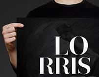 Diseño gráfico de cartel para Lorris Elbaz