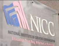 Design @ NICC - Promotional Video / TVC