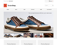 TenderShop, WordPress Minimal eCommerce Theme