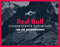 Red Bull Commentator Dashboard APP - UCI Mountainbike