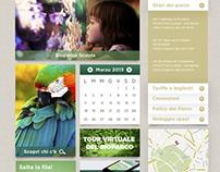 WEB DESIGN - BIOPARCO DI ROMA