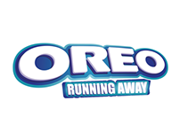 Oreo Running Away