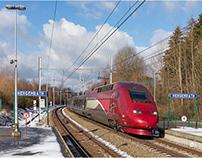 Bahnbilder Februar 2019