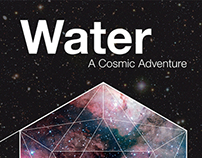 "Poster for the show ""Water  - A Cosmic Adventure"""