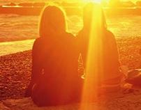 Camogli sunset study