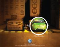 VW New Beetle Ads