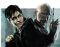 Harry Potter Dijital Art