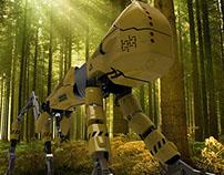 EJ-KDR 8.9 t Lumber Robot Concept