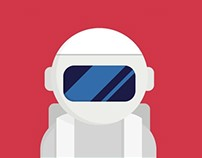 Lost Cosmonaut - mini iOS Game