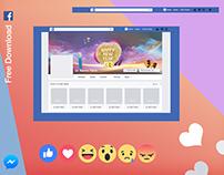 Free Facebook Profile Cover Mockup