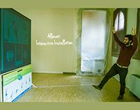 Allenati Interactive Installation