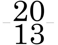 ARTWORKS - 2013 -
