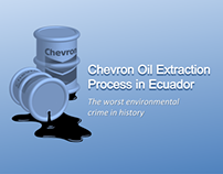 Oil Extraction Process in Ecuador