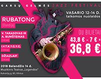 """""""Jazz festival"""" poster"""