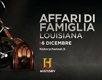 HISTORY CHANNEL - Promo Affari di Famiglia
