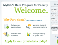 UX/UI: Faculty Beta Program