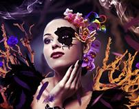 """DIGITAL ART: """"Orchid"""""""