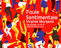 Foule Sentimentale exhibition at Kiblind atelier