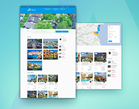 Skyland - real estate portal