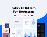 Fabrx UI Kit Pro for Bootstrap