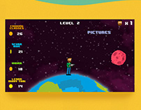 Hostel.Clostel I Explainer 8 bit game Concept