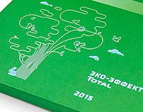 Календарь 2015 для компании Total