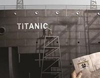 Titanic Ship of Dreams interactive exhibition site