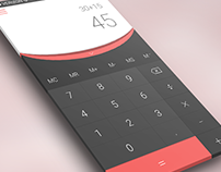 Daily UI Challenge 004 - Calculator