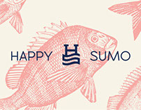 Happy Sumo Sushi - Rebrand