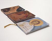 Set of three orthodox devotional books