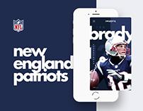 NFL App • New England Patriots