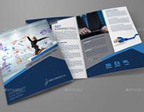 Internet Provider Services Bi-Fold Brochure