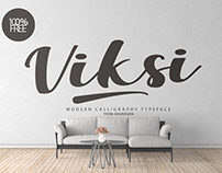 Viksi Script - Free for Personal & Commercial Use