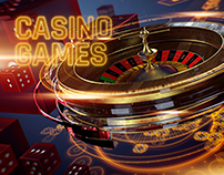Casino Games Intro (after effects template)