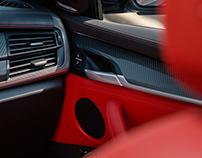 BMW X6 CGI INTERIOR