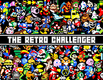 The Retro Challenger | Facebook Cover Photo