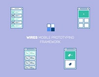 Mobile Wireframe Prototyping UI