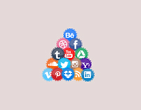 Custom Social Network Icons - Free Download