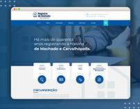 Website - Registro de Imóveis