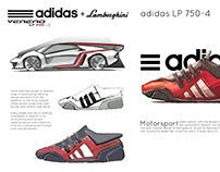 Adidas + Lamborghini Veneno Footwear Concept